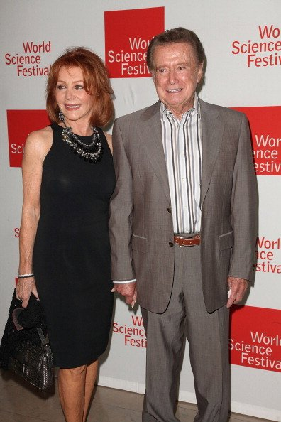 Joy and Regis Philbin at Alice Tully Hall on June 1, 2011 in New York City. | Photo: Getty Images
