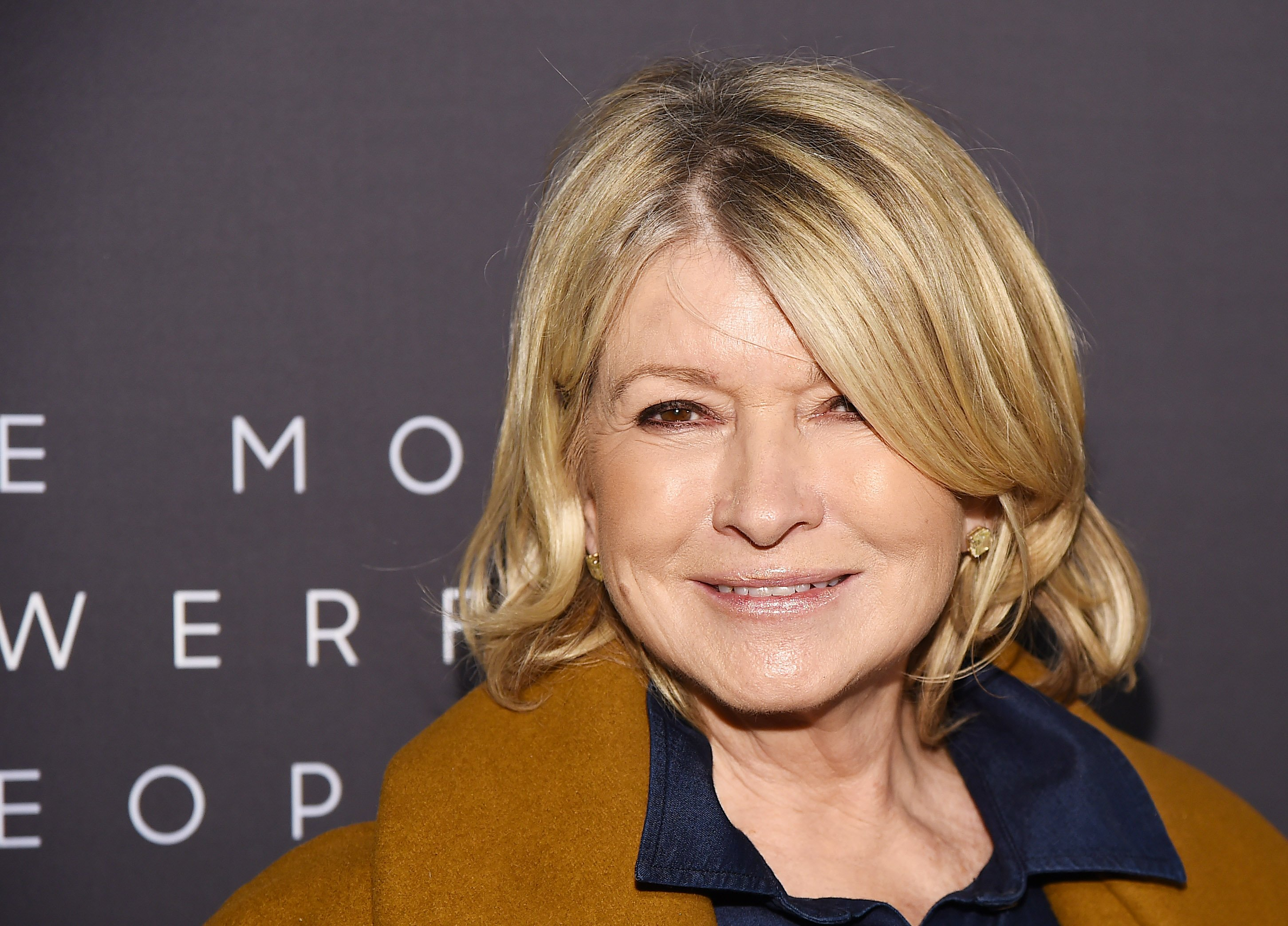 Martha Stewart attends the The Hollywood Reporter's 9th Annual Most Powerful People In Media on April 11, 2019, in New York City. | Source: Getty Images.