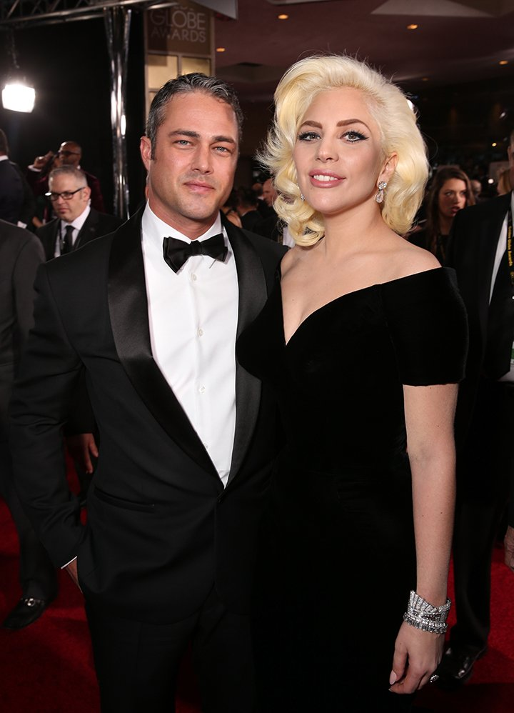 Lady Gaga and Taylor Kinney. I Image: Getty Images.
