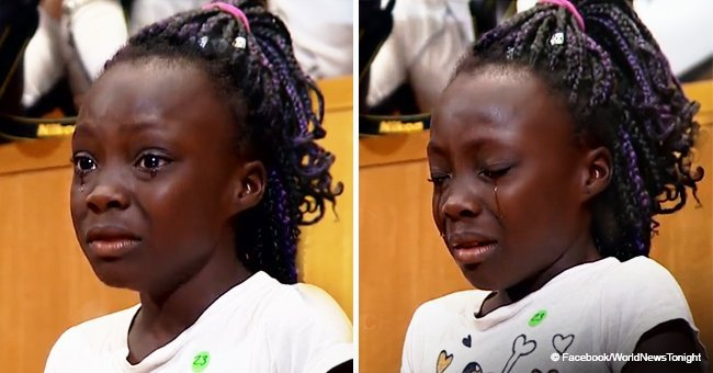 Tearful girl expressed her concern in emotional video about police brutality against black people