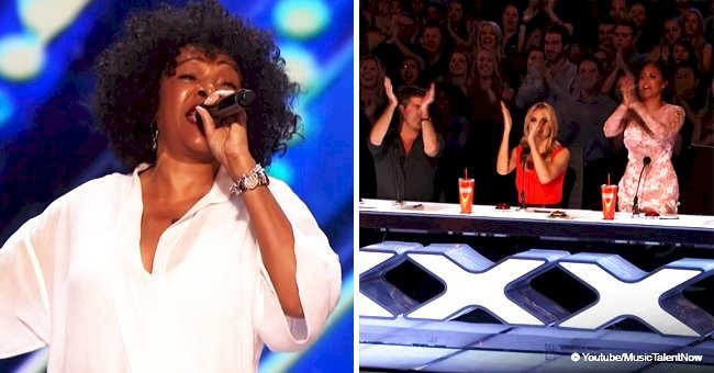 Woman, 62, was stopped by Simon Cowell but blew the audience away with her 2nd song in viral video
