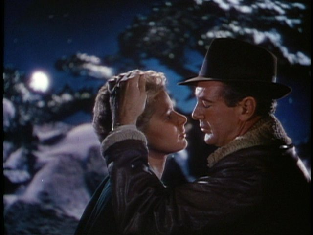 """Ingrid Bergman and Gary Cooper in """"For Whom The Bell Tolls"""" 1943 