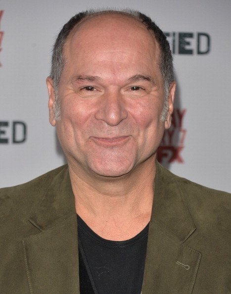 """Actor John Kapelos arrives to the Season 5 premiere of FX's """"Justified"""" at DGA Theater on January 6, 2014 in Los Angeles, California 