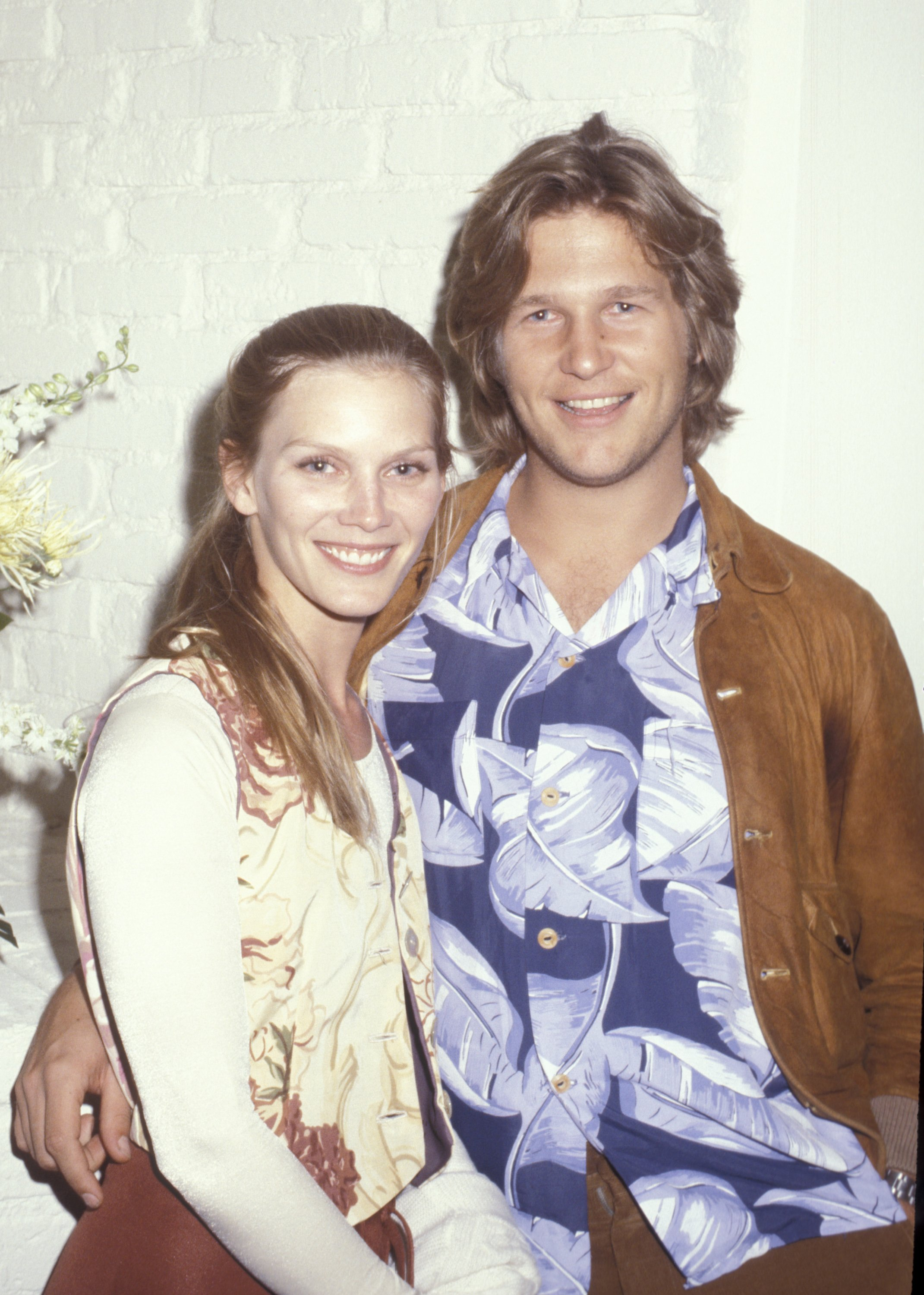 Susan Bridges and Jeff Bridges during the opening of the Camp Beverly Hills Boutique in Beverly Hills circa 1977. | Source: Getty Images