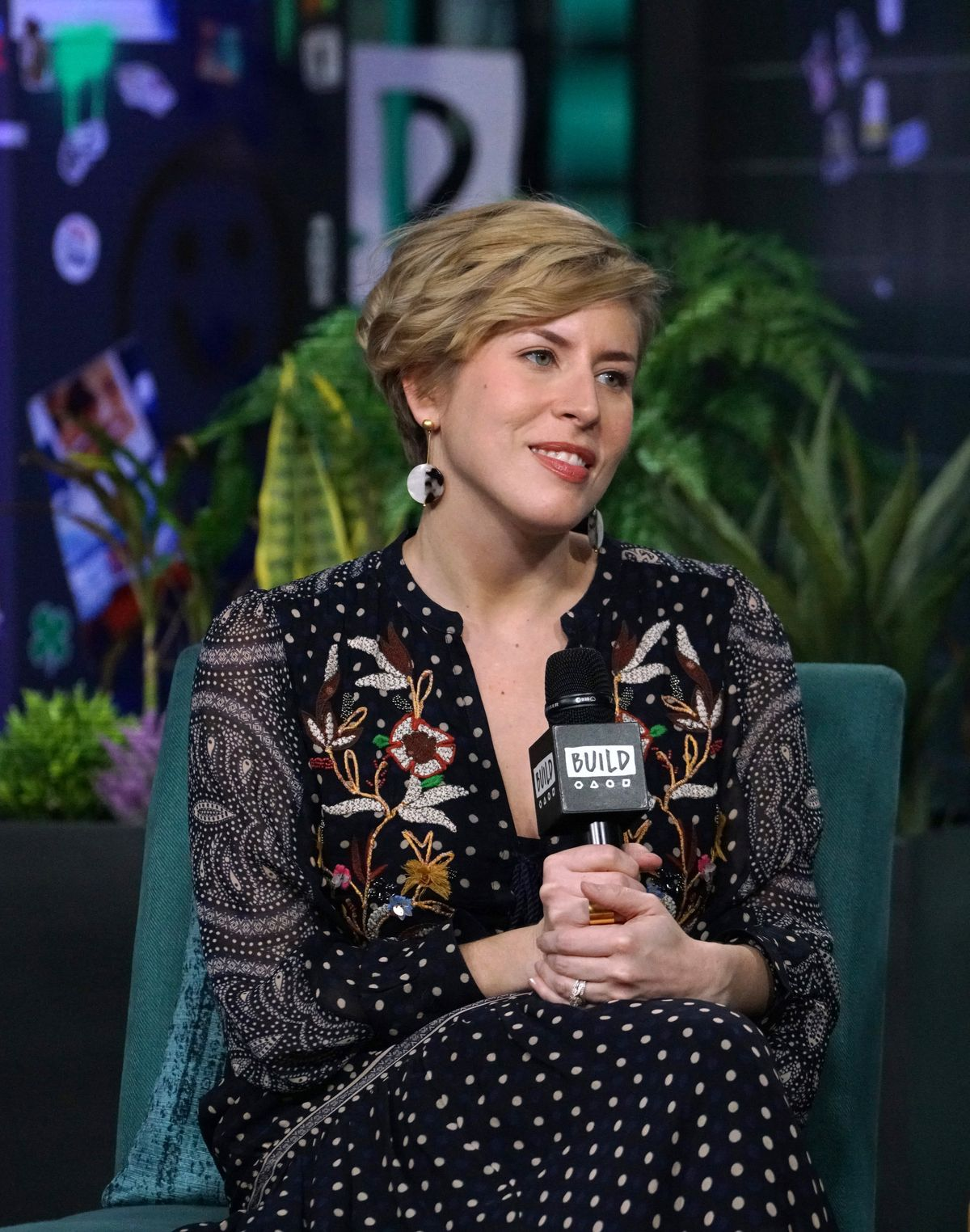 """Erin Napier attends Build Series to discuss the new season of """"Home Town"""" at Build Studio on January 08, 2020 in New York City. 
