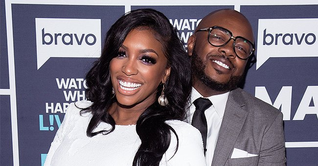 Porsha Williams' Daughter Pilar Poses in Sweet Photo Wearing Her Dad's Hat & a Pink Jumpsuit