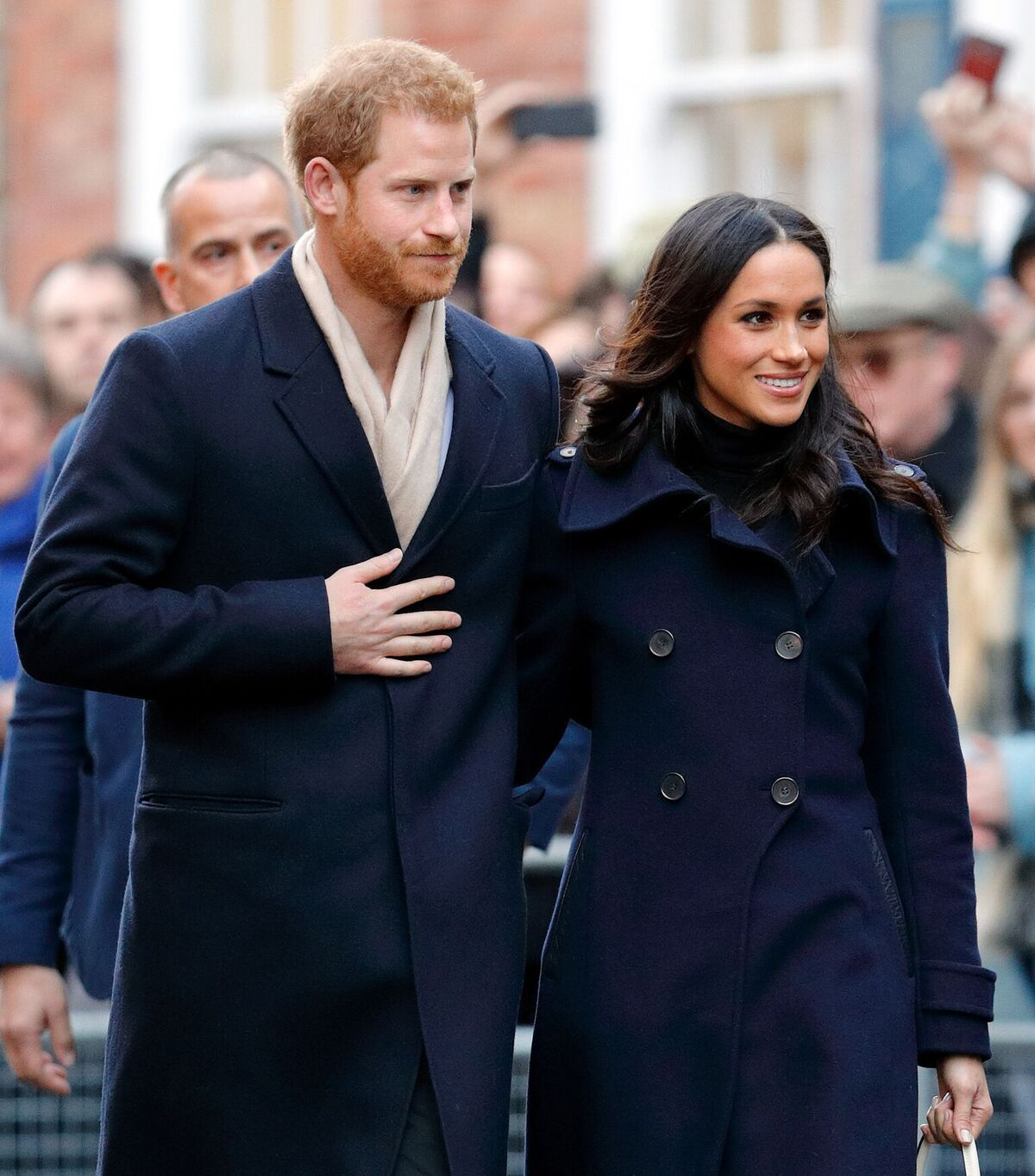 Prince Harry and Meghan Markle attend a Terrence Higgins Trust World AIDS Day charity fair at Nottingham Contemporary on December 1, 2017 in Nottingham, England. Prince Harry and Meghan Markle announced their engagement on Monday 27th November 2017 | Photo: Getty Images