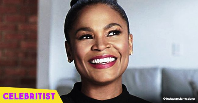 Nia Long is all smiles in photo with longtime partner and their 6-year-old son