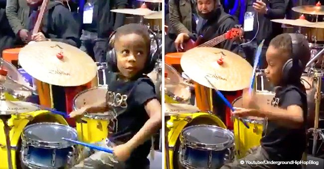 4-year-old drummer has the internet amazed with his skills