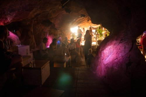 A party in a cave. | Source: Shutterstock.
