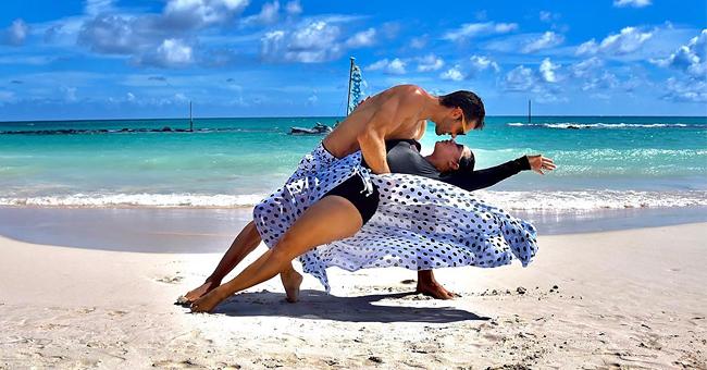 Toni Costa y Adamari López se demuestran todo su amor 'hasta el fin del mundo bailando'
