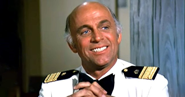 """Gavin MacLeod pictured as Captain Stubing on """"The Love Boat."""" 
