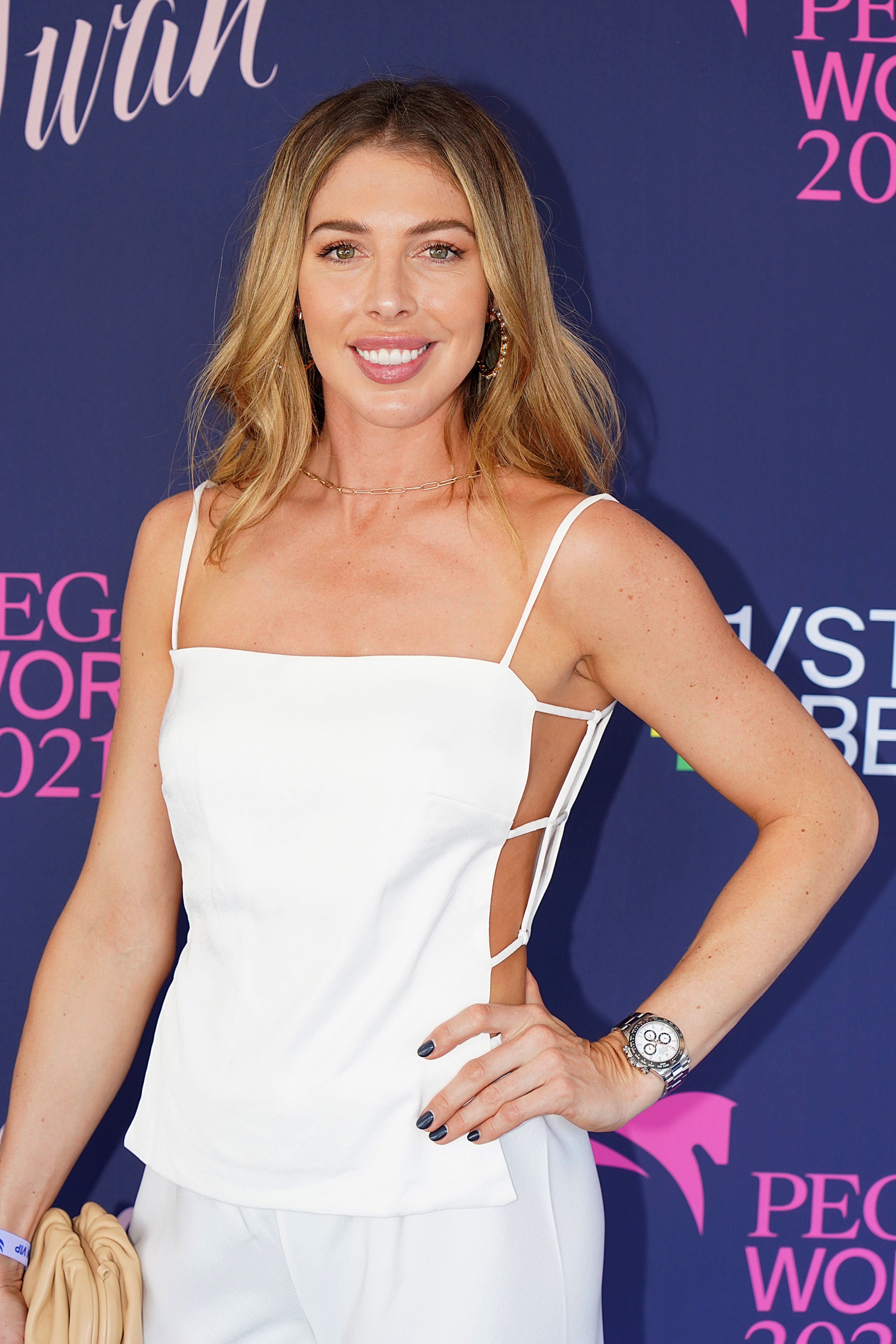 Hannah Selleck attends the 2021 Pegasus World Cup Championship Invitational Series at Gulfstream Park on January 23, 2021 in Hallandale Beach, Florida. | Source: Getty Images