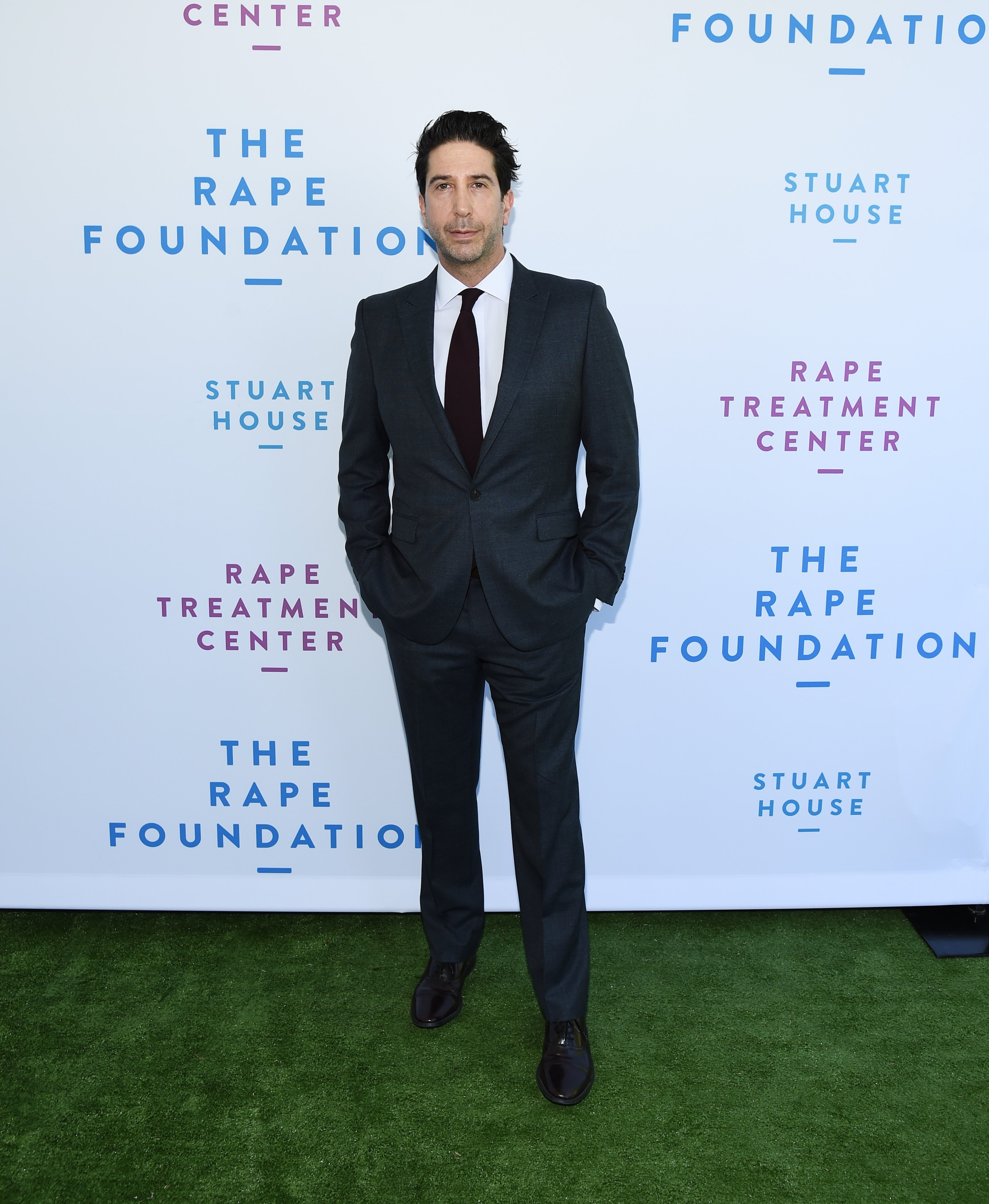 David Schwimmer at The Rape Foundation's 2019 Annual Brunch Benefiting Rape Treatment Center and Stuart House |Photo: Getty Images