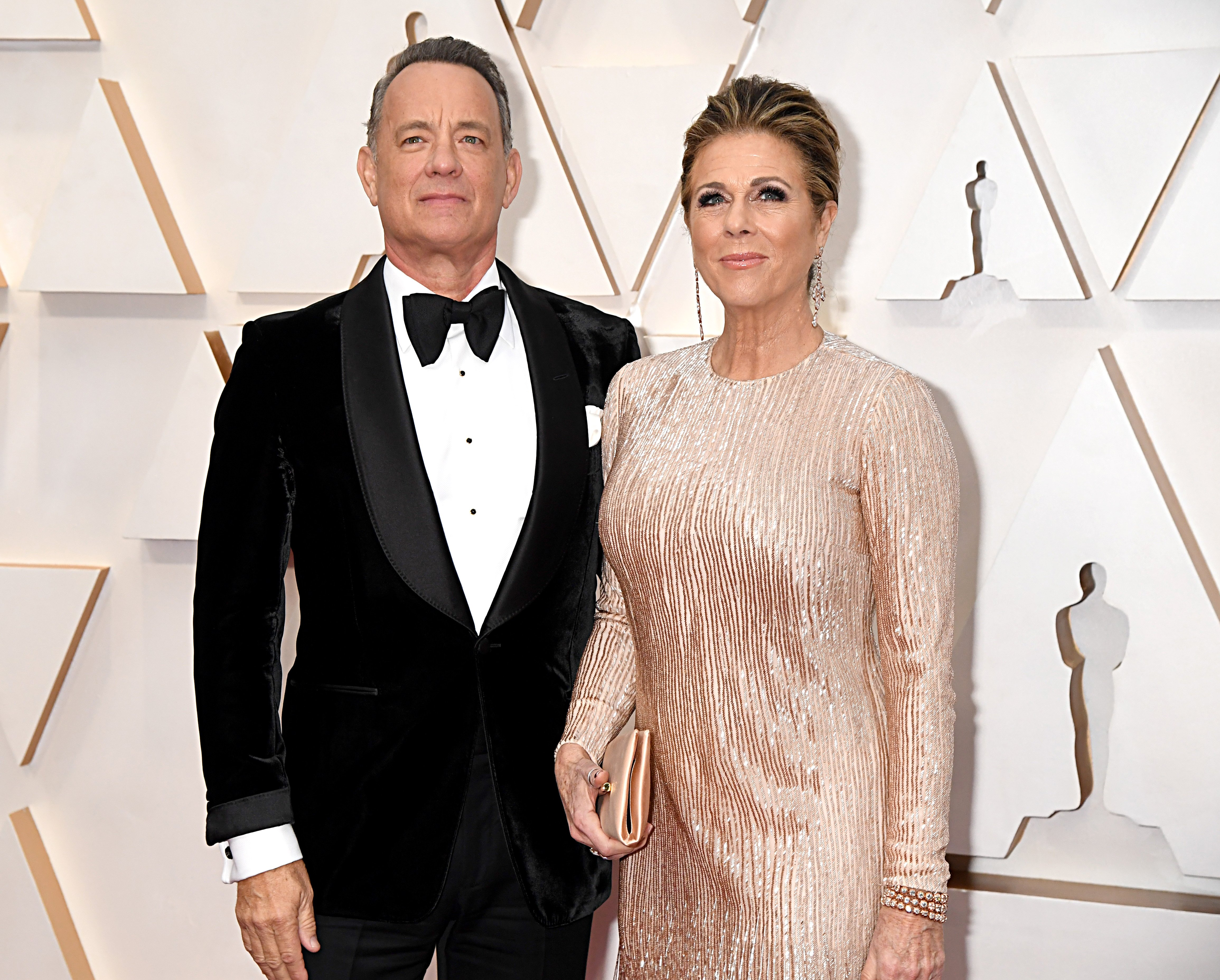 Tom Hanks and Rita Wilson attend the 92nd Annual Academy Awards at Hollywood and Highland on February 09, 2020. | Photo: Getty Images.