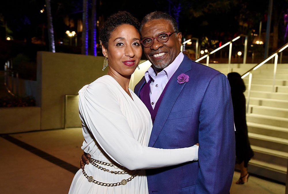 Dionne Lea Williams and Keith David at the Center Theatre Group 50th Anniversary Celebration at Ahmanson Theatre on May 20, 2017 in Los Angeles, California. I Image: Getty Images.