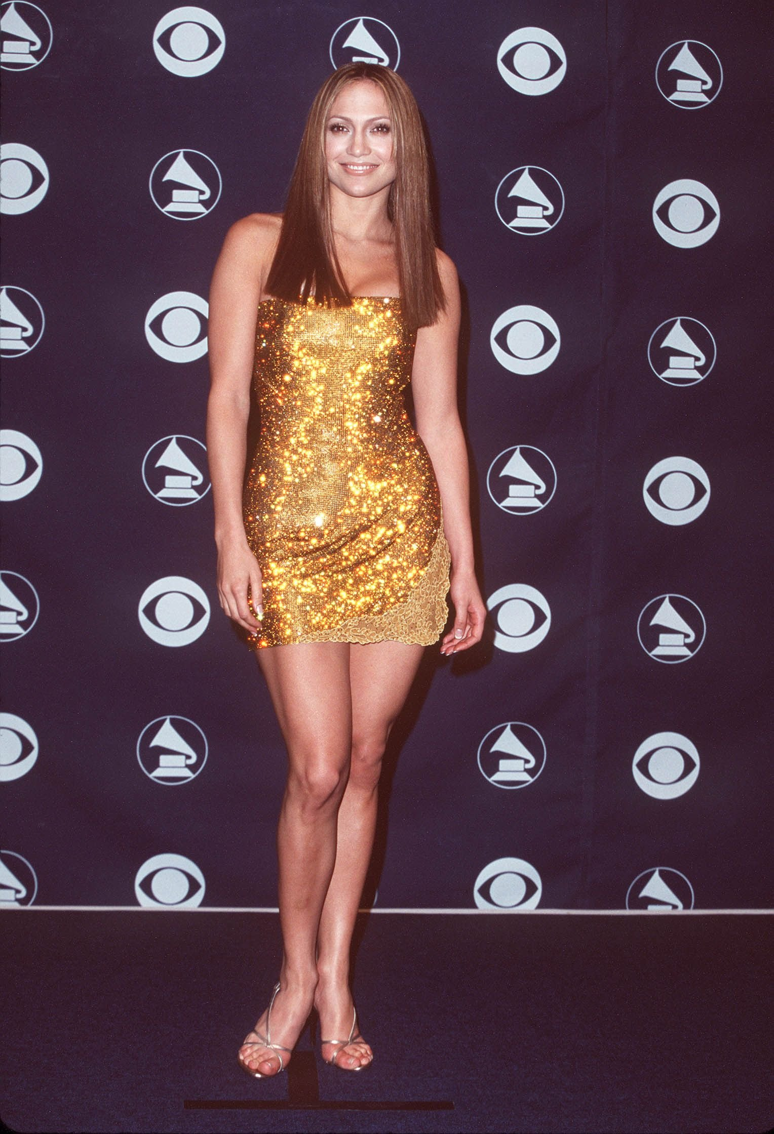 Jennifer Lopez at the 41st Annual GRAMMY Awards. | Source: Getty Images