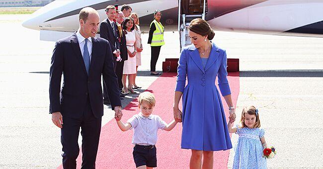 Kate et William de retour d'Ecosse quelques jours avant la rentrée de George et de Charlotte