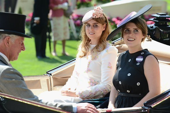Prince Charles, Prince of Wales, Princess Beatrice of York and Princess Eugenie of York attend day 1 of Royal Ascot on June 20, 2017 | Photo: Getty Images