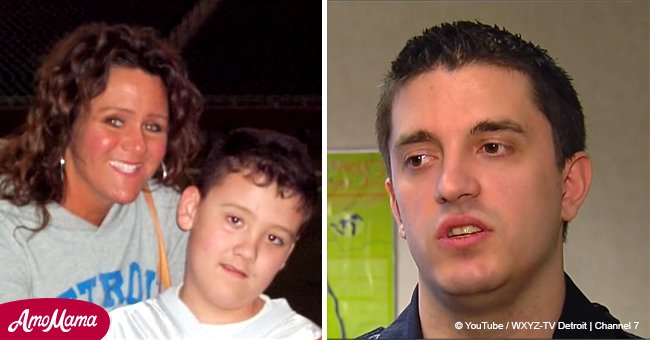 Police officer pulled over Michigan mom and his decision saved her son's life