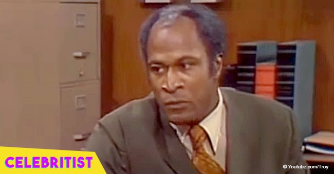 Remember James Evans from 'Good Times'? He looks great at 78 in rare photo with adult daughter