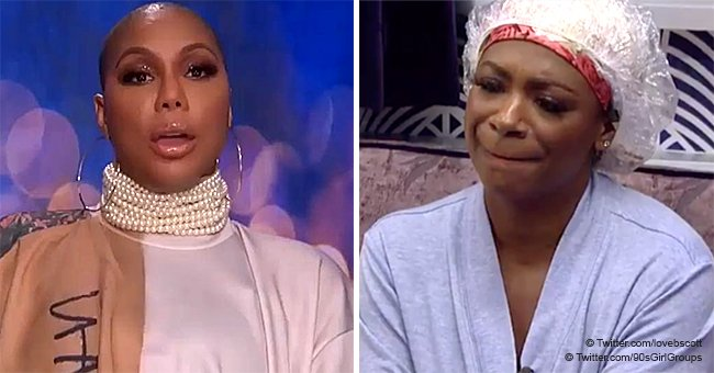 Tamar Braxton reportedly can't stand Kandi Burruss and will vote her off 'Celebrity Big Brother'