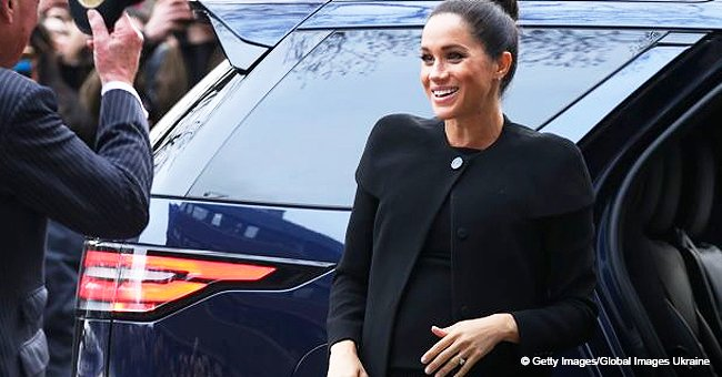 Meghan Markle shows off her elegant bun, rocking all-black outfit for university visit