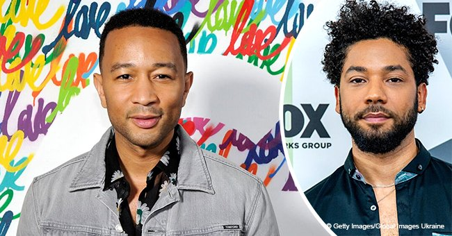 John Legend and other celebrities show support for Jussie Smollett following suspected hate crime