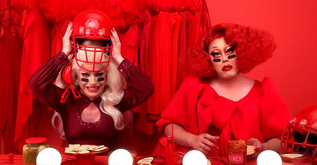 Miz Cracker and Kim Chi from 'RuPaul's Drag Race' Appeared in Sabra Hummus Super Bowl Ad