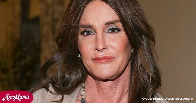Caitlyn Jenner shows off slender legs in brief shorts while she dined with her gal pal