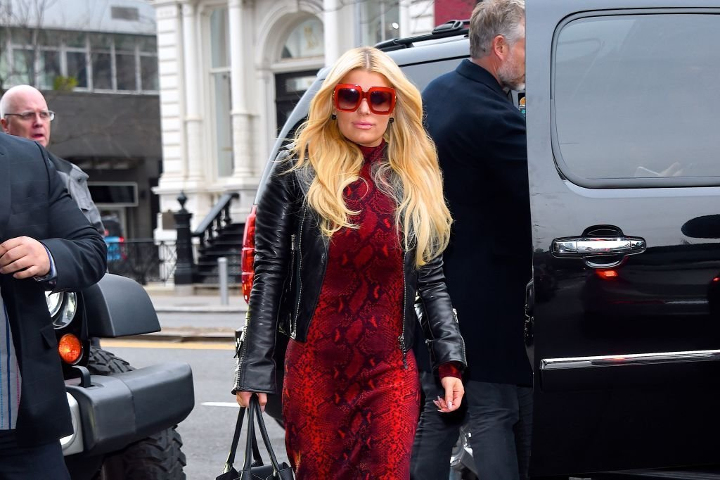 Jessica Simpson seen out and about in Manhattan on February 5, 2020. | Photo:Getty Images