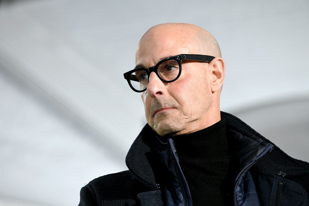 Stanley Tucci speaks onstage at Acura Festival Village at Sundance Film Festival , January 2020 | Source: Getty Images
