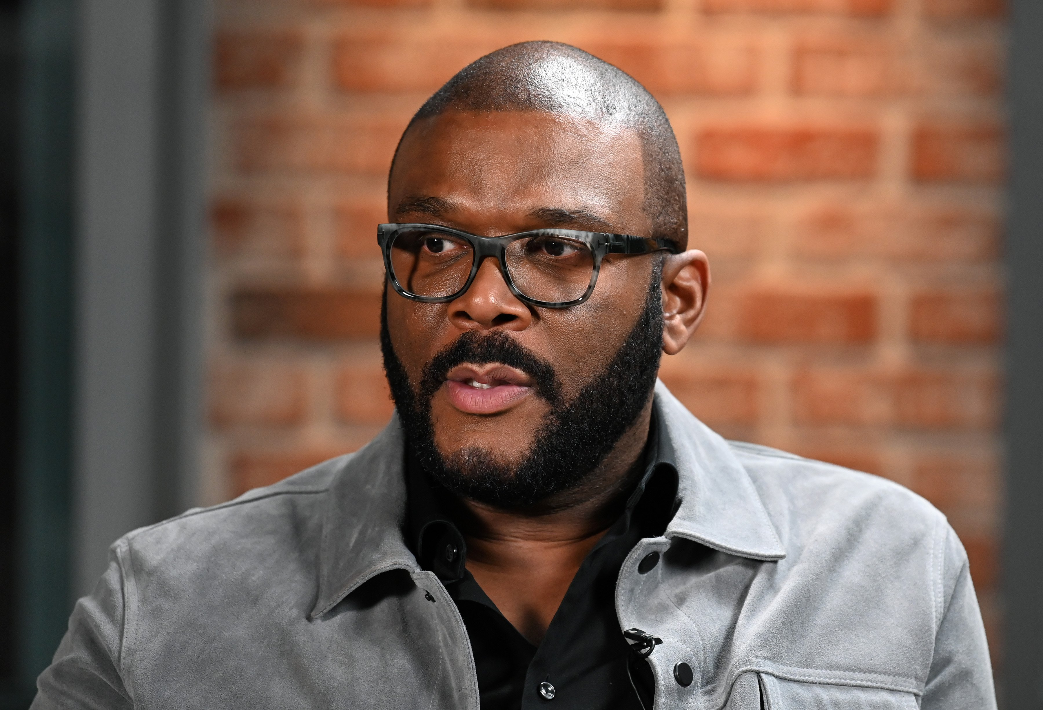 Actor/producer Tyler Perry visits LinkedIn Studios on January 13, 2020, in New York City. | Source: Getty Images.