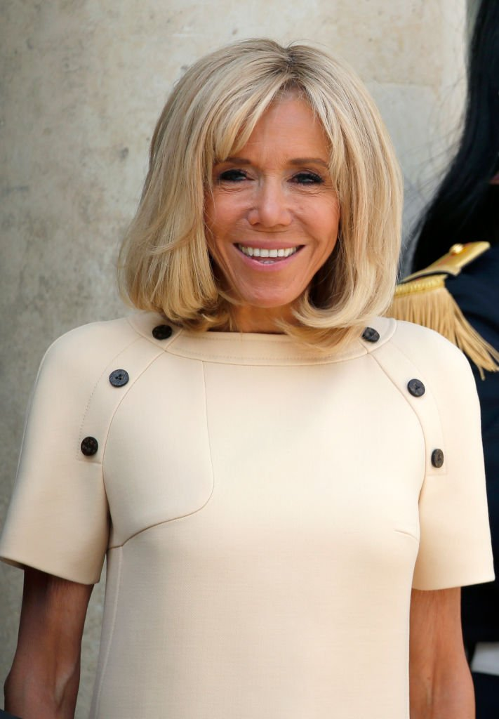 Le magnifique sourire de Brigitte Macron. | Photo : Getty Images