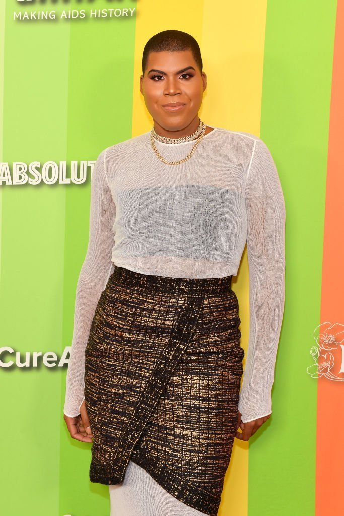 EJ Johnson at the 2019 amfAR Gala in Los Angeles on Oct. 10, 2019 | Photo: Getty Images
