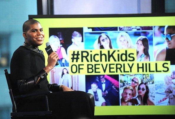 EJ Johnson discussing the new season of 'Rich Kids of Beverly Hills' | Photo: Getty Images