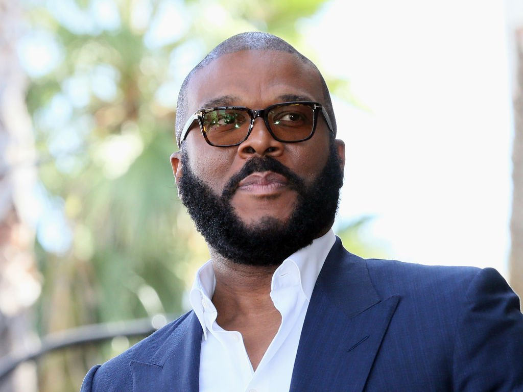Tyler Perry attends his being honored with a Star on the Hollywood Walk of Fame | Photo: Getty Images