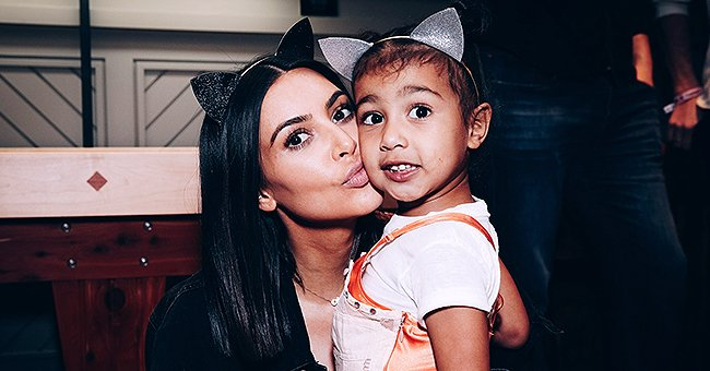 Kim Kardashian Shares Sweet Photo of Her Daughter North and Appears to Worry She's Growing up Too Fast