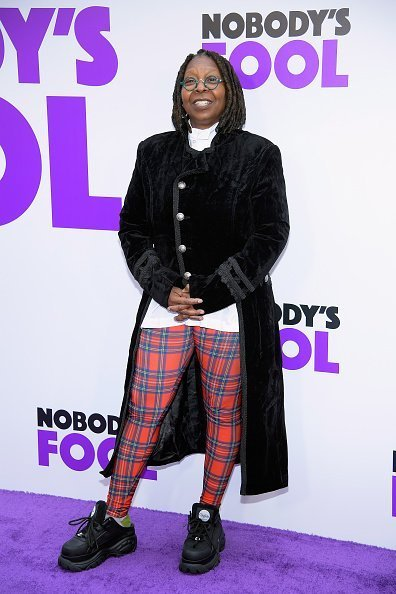 Whoopi Goldberg at the world premiere of 'Nobody's Fool' on October 28, 2018 | Photo: Getty Images
