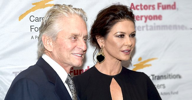 Closer Weekly: Michael Douglas Turns into a Big Kid When He Plays with His Grandkids