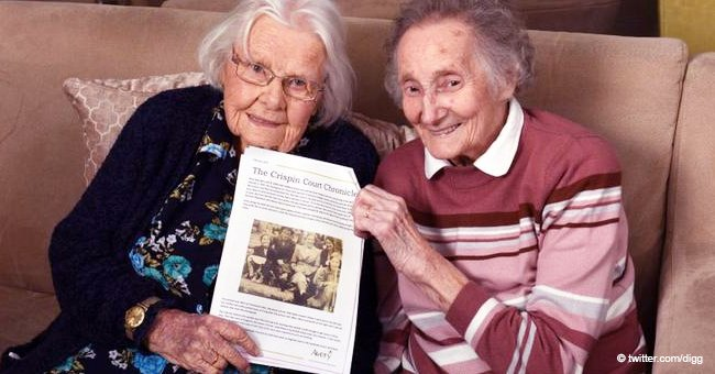 Childhood Best Friends Reunite in the Same Care Home after 70 Years Spent Apart