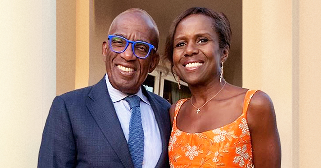 Al Roker's Fans Compliment His Wife Deborah's Orange Dress in a Sweet New Photo