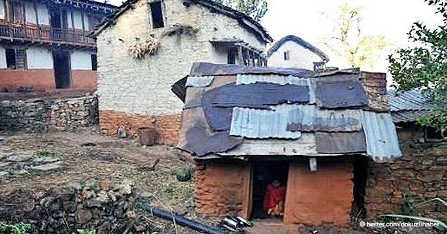 """Frau stirbt in """"Menstruationshütte"""", nachdem sie während ihrer Periode aus Haus verbannt wurde"""