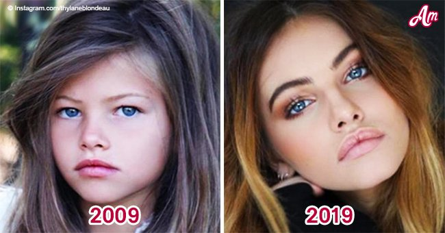 'Most beautiful girl in the world' is all grown up and she nails the 10-year challenge
