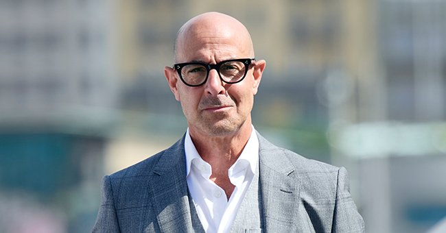 """Stanley Tucci attends """"La Fortuna"""" photocall during 69th San Sebastian International Film Festival , September 2021 