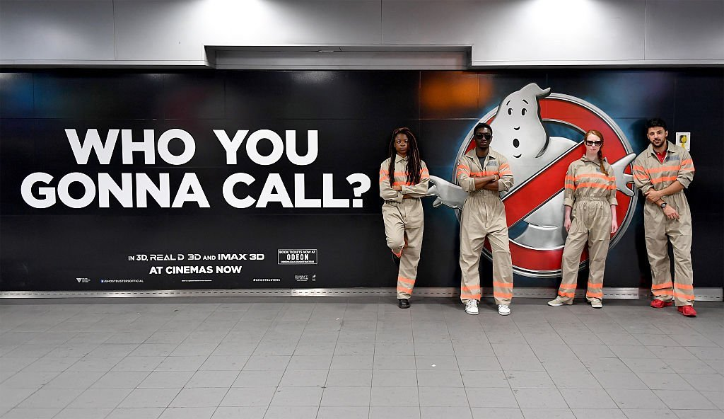 Ghostbusters take over Waterloo | Getty Images