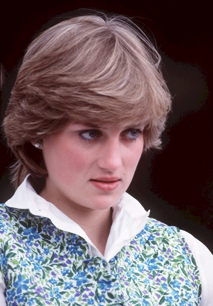 Diana, Princess of Wales at a polo match before she married in 1981. Photo: Getty Images