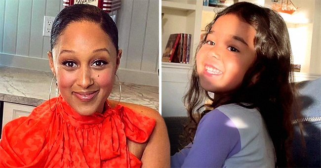 Tamera Mowry's Daughter Melts Hearts as She Strikes Pose in Swimming Costume (Video)