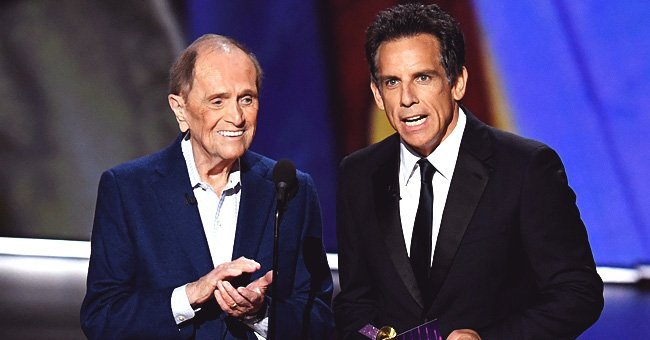 Bob Newhart and Ben Stiller speak onstage during the 71st Emmy Awards at Microsoft Theater on September 22, 2019 in Los Angeles, California | Photo: Getty Images