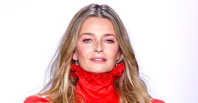 Paulina Porizkova, 55, Shows off Her Flawless Figure Posing on a Piano in Black Lingerie